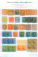 Willy Balasse 1422 - 1425 Auktion 1994 - Auktionskataloge