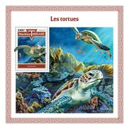 TOGO 2017 - Turtles S/S. Official Issue. - Schildpadden