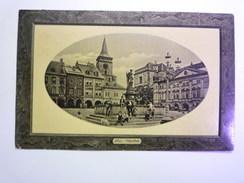 TCHEQUIE  -  JICIN  :  Namesti  -  Timbre Autrichien    - Czech Republic