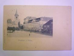 TCHEQUIE  -  JICIN  :  Pozdrav Z Jicina   1898  -  Timbre Autrichien    - Czech Republic