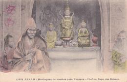 VIET NAM ANNAM Montagnes De Marbre Près Tourane Chef Ou Pape Des Bonzes - Vietnam
