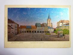 TCHEQUIE  -  JICIN  :  Pozdrav Z Jicina  -  Vychodni Cast Namestr -  Timbre Autrichien    - Czech Republic
