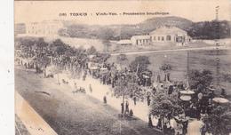 VIET NAM  TONKIN Vinh-Yen Procession Boudhique Traditions - Vietnam