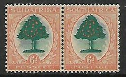 South Africa, 1931 Union  6d Green & Orange, Inverted Watermark, , MH* - South Africa (...-1961)