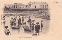 VIET NAM TONKIN Pêcheurs Annamites - Vietnam