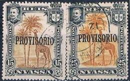Companhia De Nyassa, 1903, # 43/4, Used - Mozambique