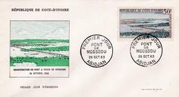 COTE D'IVOIRE ABIDJAN Inauguration Du Pont à Péage De Moossou 26/10/63 - Ivory Coast (1960-...)