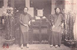 VIET NAM INDICHINE Femmes De Cochinchine Et Du Tonkin Types - Vietnam