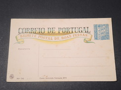 PORTUGAL - Entier Postal Illustration Religieuse - L 11234 - Ganzsachen