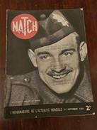 PARIS MATCH   21 SEPTEMBRE 1939 - Livres, BD, Revues