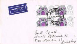 26925. Carta Aerea CD Satelite (mexico) 1983 A Germany - Mexico