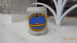 Chope Allememande De Vétérans Du U Boot - Boats
