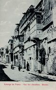 RHODES / RODOS / RODI : AUBERGE De FRANCE / RUE Des CHEVALIERS - ANNÉE / YEAR ~ 1910 - RARE !!! (ab266) - Grecia