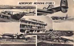 94 AEROPORT MONDIAL D ORLY / MULTIVUE / AVIONS / AEROGARE - Orly