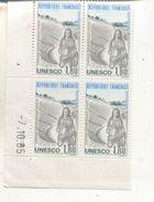 France Coin Daté 1985 Unesco N° 88 - Dated Corners