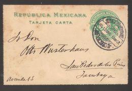 7425-Mexico , Postal Stationery Tarjeta Carta C.2 – Used - Mexico