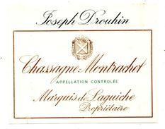 Etiquette Bourgogne Marquis De Laguiche Drouhin - Bourgogne