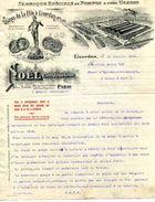 Fabrique Spéciales De Pompes Tous Usages, Ets NOEL Constructeur, Usines De La Flie, Liverdun, 1912 - Frankreich