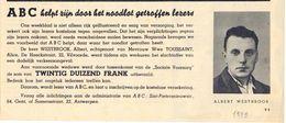 Origineel Knipsel - Slachtoffer Verkeersongeval Albert Westbrook Uit Vilvoorde - 1949 - Non Classés