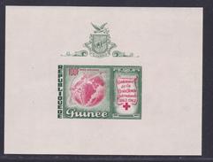 GUINEE BLOC N°    1 ** MNH Neuf Sans Charnière, TB  (CLR080) Centenaire De La Croix Rouge Internationale - Guinée (1958-...)