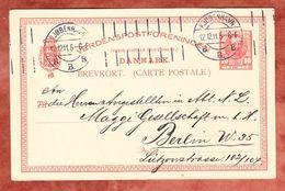 P 140 Koenig Frederik, Kjoebenhavn Nach Berlin 1911 (44923) - Ganzsachen