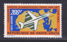HAUTE-VOLTA AERIENS N°    8 ** MNH Neuf Sans Charnière, TB (D3978) Liaison Aérienne Ouagadougou-Paris - Obervolta (1958-1984)