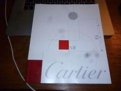 Catalogue Cartier Montre Horlogerie  80 Pages Nombreuses Photos Avec Folder Trinity - Bijoux & Horlogerie