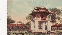VIETNAM Hanoï Entrée De La Pgode Sde Confucius - Vietnam