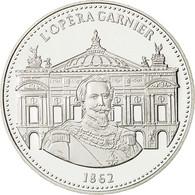 France, Médaille, Les Joyaux De Paris, L'Opéra Garnier, FDC, Argent - France