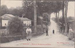88-DARNEY-Route De Monthureux-sur-Saône...  Animé - Darney