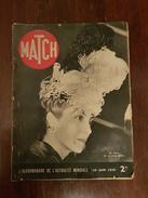 PARIS MATCH 29  JUIN  1939 - Livres, BD, Revues