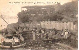 """83TOU35 - TOULON  - Le Mourillon , Café Restaurant """" Monté Carlo """" Bains - Toulon"""
