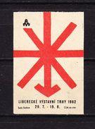 Tschechisches Zuendholzschachteletikett, Symbol (44933) - Zündholzschachteletiketten