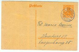 """""""ARNIS (SCHLEI)"""" Glasklarer Stempel 1918 P 110 - Briefe U. Dokumente"""