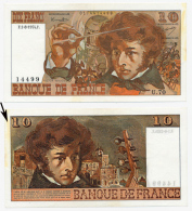 1974.1.8 // BERLIOZ // Dix Francs // SUP/XF - 10 F 1972-1978 ''Berlioz''