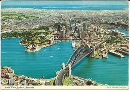Australia Sydney Postcard Via Macedonia,Skopje,nice Stamps Motive Minerals.OPAL - Sydney