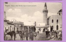 Bengasi - Piazza Della Beledia Dopo Il Bombardamento - Libye
