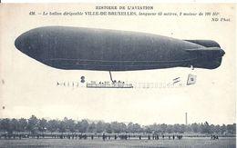 AVIATION -  DIRIGEABLE Ville De Bruxelles - Zeppeline