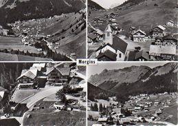 Morgins, Postauto, Car Postal, Autobus, Mehrbildkarte - VS Valais