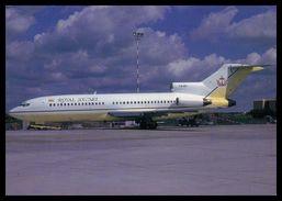 AIRPLANES - MODERN ERA - « ROYAL BRUNEI» BOEING 727-30..  Carte Postale - 1946-....: Moderne
