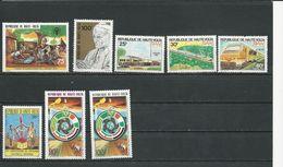 HAUTE-VOLTA  Scott 494, 529, 567-9, 608, 645-6 Yvert 475, 512, 548-0, 589, 622-3 (8) ** Cote 8,70$ 1979-84 - Haute-Volta (1958-1984)