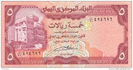 YEMEN 5 RIAL 1991 P-17c Sig/8 ALGUNAID UNC */* - Yemen