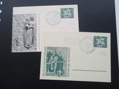 1961 Lagerpost Bexbachtal. SSt. Zeltlagerplatz Bexbachtal. Bendorf Rhein. Deutsche Pfadfinderschaft. 2 Karten. Boy Scout - Covers & Documents