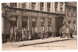 CPA 62 BOULOGNE SUR MER RESTAURANT AU CHEVAL BLANC CPA TRES  RARE BELLE CARTE !! - Boulogne Sur Mer