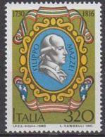 1980  -  Filippo Mazzei - Nuovo - 1971-80: Mint/hinged