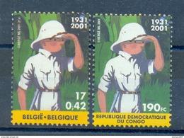 OCB Nr 3048 Kuifje Tintin Strip BD Comic Cartoon Hergé + CONGO  MNH !!! - Belgique