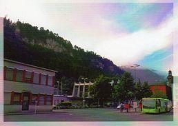 Postauto, Car Postal, Autobus, Mercedes Benz Citaro Gelenkbus Liechtenstein Post; Photo In Feldkirch (A), 2014 - Liechtenstein