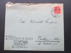 DR 1928 Firmenbrief Mit Inhalt. Villeroy & Boch Keramische Werke AG. Leipzig / Hannover. Porzellan - Briefe U. Dokumente