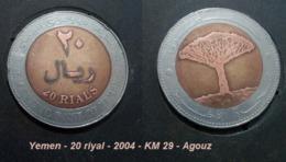 Yemen - 20 Riyal - 2004 - KM 29 - Agouz - Yémen