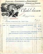 Fabrique De Moulins à Cylindre De Brunehaut, Ets. Charles POISSON, MORIGNY Près ETAMPES, 1918 - Frankreich